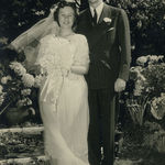 Wedding photos, Grace and Lovell Langstroth, Jr.