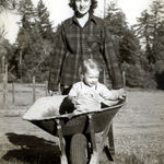 Grace with 1st born daughter, Susan