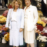 Grace with Susan, likely shopping in SF, year unknown