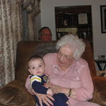 Little Scott and Nana