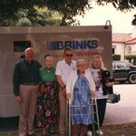 "Larry Brink, Virginia Royce, Richard Royce, Marjorie Brink Royce, Elisabeth ""Betty"" Royce Greenwood."