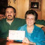Sadie with nephew Mark Garcia ( Sadie's sister Dorothy son)