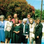 Sadie with Family ( Aunts and Cousins)Aunt Belle , Cousin Paula , Roberta, Mike , Steve . Aunt Stella  and Aunt Grayce .