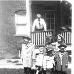Ron, Connie, Barb, Sharon Front- Rich, Tom Apr 1955