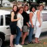 Sadie loved going on cruise to Mexico with the girls . Of course we went limo style to board the cruise ship . Sherry Koopman , Sadie , daughter Camille,  Teresa Craddock and Shanan Miller.