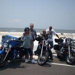 bike ride to the coast