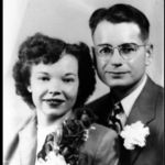 May 10th, 1946 George Meno 34, marries the beautiful Reba Wirey 19, at St. Johns Cath Church, Indpls, IN