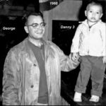 1960 George and his son Danny Meno had a special bond. Dan was his 3rd child, George was the 3rd child of his father John who was his fathers 3rd child. Lucky 3's!!