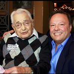 DEC 2011 Dan with his father George Meno gathered with family from all over the country in celebration of his 100 years of good clean living. George given permission to start smoking big cigars and hitting the hard liquor by family but politely declines.