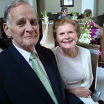 Dad &amp; Mom at Andrew and Cherstin&#39;s wedding, Arlington, VA 2010.