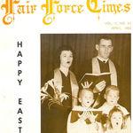 Moran Family at McDill Air Force Base Chapel 1962.