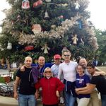 DCA XMas Tree = Nick, Rigo, Mac, Phillip, John, Thomas, Janelle and Shirley