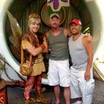 Boy Farie, John & Rigo at Pixie Hollow Disneyland 05.06.11