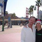 John & Vickie DCA Entry Plaza 001 Feb 02 2008