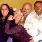 Shirley, Janelle, John & Rigo Prince concert pre-party 05.08.11