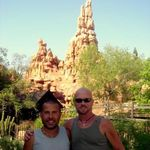 Rigo & John Big Thunder Mountain Disneyland 2011