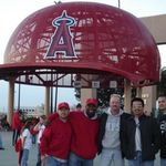 Rigo, Bobby, John, Armando & Randon Hottie at Angels Stadium Entry