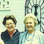 Ann THOMPSON Sorrels, Harriette THOMPSON Heyward (May, 1980)