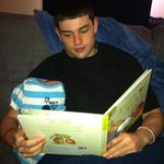 Anthony had a school project an Joycie took it to another level by dressing the 5lb bag of flour up in baby clothes. Anthony is seen here reading to Joyce's grandflour. We wanted biscuits afterwards, but she refused.