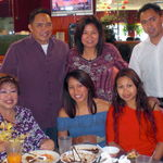 Mother's Day 2011.  Mom, Stephanie, Lorie, me, Blessie and Patrick.  Dave is taking the picture.  Thanks Dave!