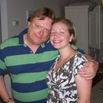 Tom and Niece, Jill, on Jill&#39;s 30th Birthday