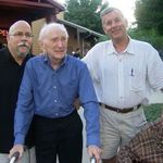 John, Harry, Bill & Oscar on his 90th Birthday
