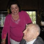 Phyllis & Harry at Birthday dinner