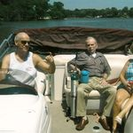 Bob with Larry and Loretta Michaud at Lake Springfield, IL