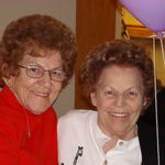 Mom and her Sister,  Mary