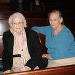 with her mother - January 2007