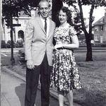 with ex-husband Allen Rackers