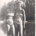 with double cousin Rose Marie