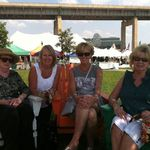Buffalo Waterfront, August , 2012, sisters Mare, Ann, Patti, Kathy