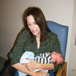 Grandma holding Scott G. Tobar Jr. November 18, 2010