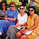 What A Team We Were!  Christine Brooks, Maryann, Sandra Coulter, Enola Johnson