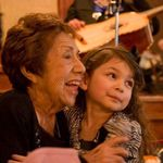 A day full of love & happiness. Grandma Espie & Haylie (great-grandaughter) 2012