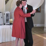 My mother dancing with me at my wedding