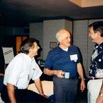 Roger at Lake Tahoe in 1997 with TMA staff.