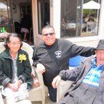 Steve with Grandma & Grandpa Marquez