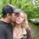 Brandon and Ciera smooching