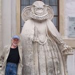 In Neustadt an der Donau, Germany, July 2010, in the company of some grand dame