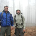 Mac's Grandson's Don and Tommy Dodsworth early morning on the Appalachian Trail  March 2012 Starting off this day with a smile