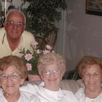 Andrew, Elsie and Sisters Peggy and Mary.