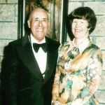 Helen and Collier dressed for a formal dinner, 1973.
