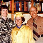 Helen, John and Collier -- John's Graduation from Sunny Hills HS, 1977.