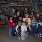 Holly and Pat with the great grand kids