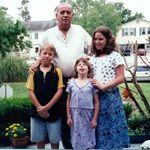 Sidney, Grandchildren, Angela, Eric and Joannie