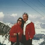 on Mount Titus in Switzerland