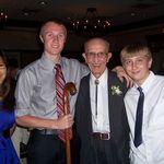 Katerina, Bobby and Grayson with Grandpa
