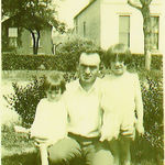 GinaLee and Rebecca with their father, George Owen